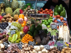 The La Boqueria food market